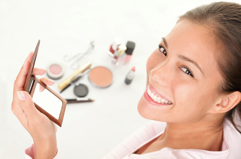 seduta di make up
