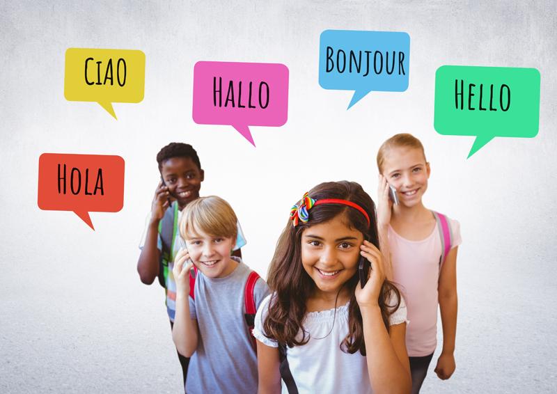 Laboratorio di inglese o francese