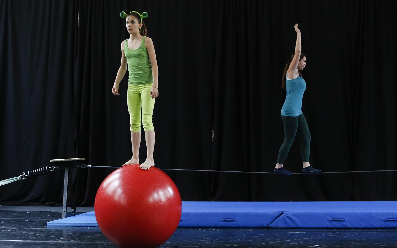 equilibrismo esercizi