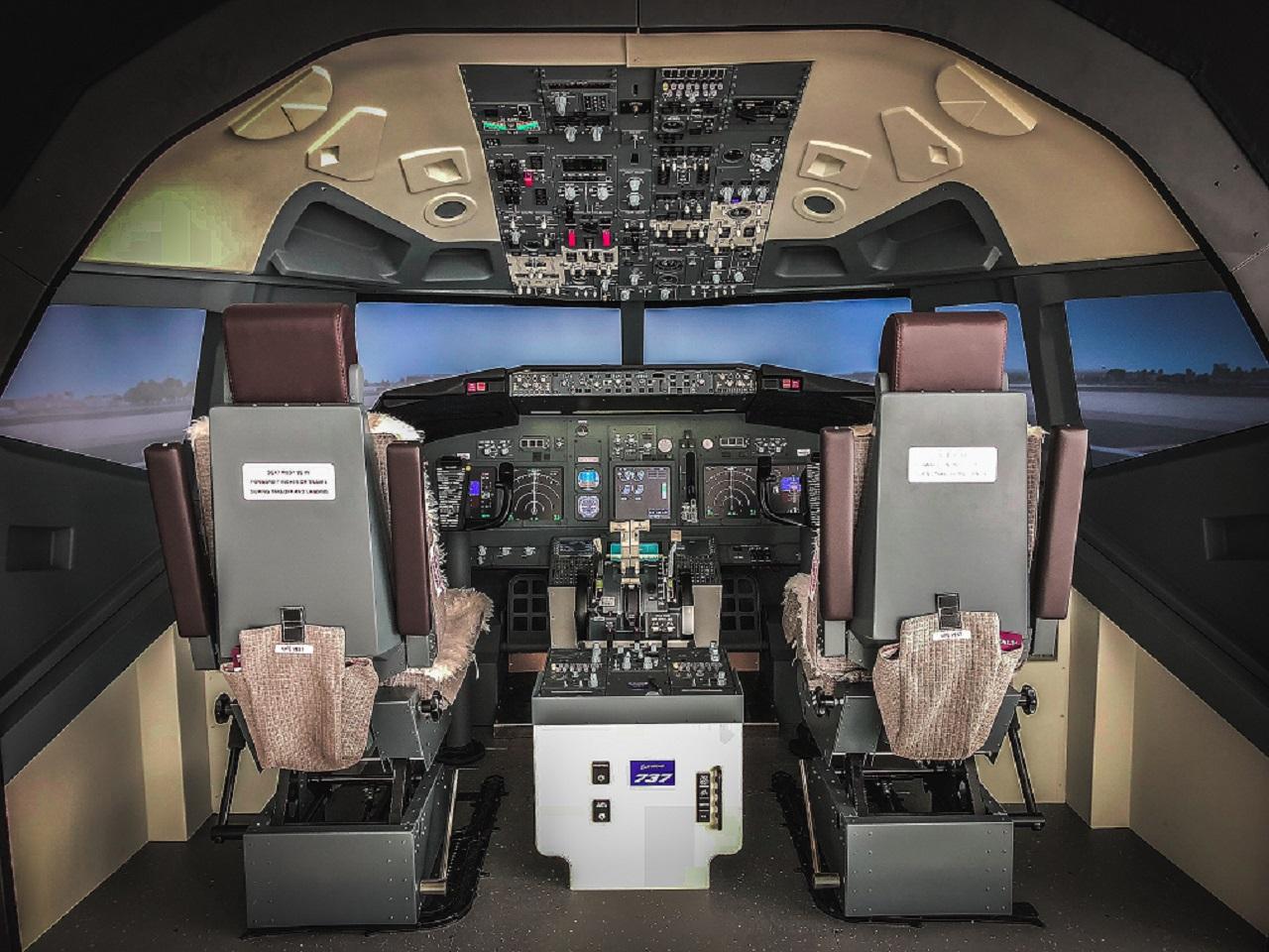 Simulatore volo copertina