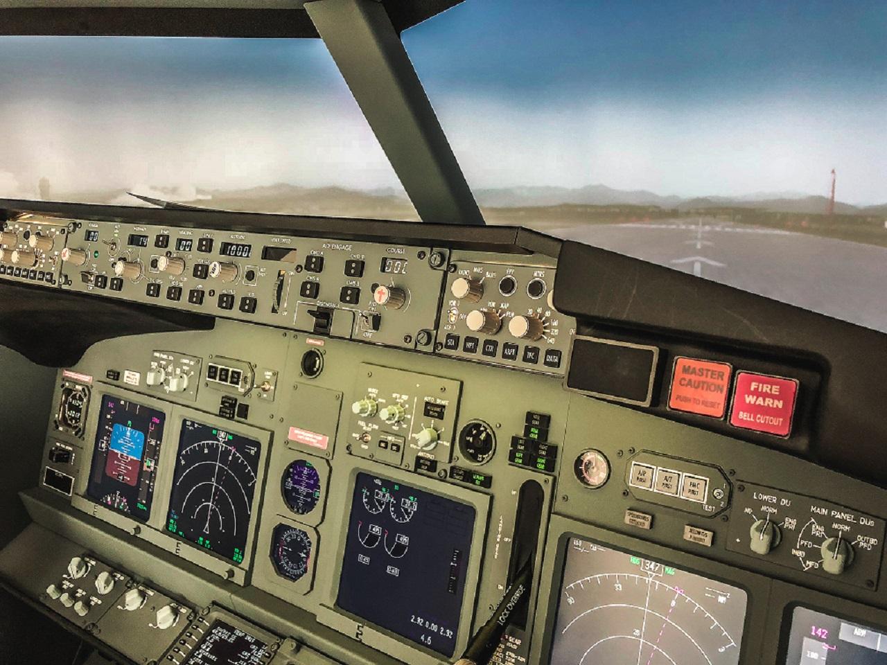 Simulatore volo View
