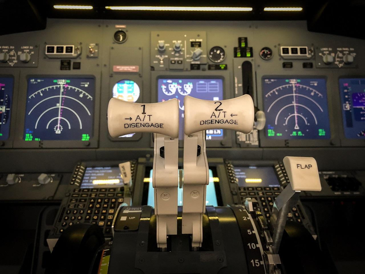 Simulatore volo dettagli
