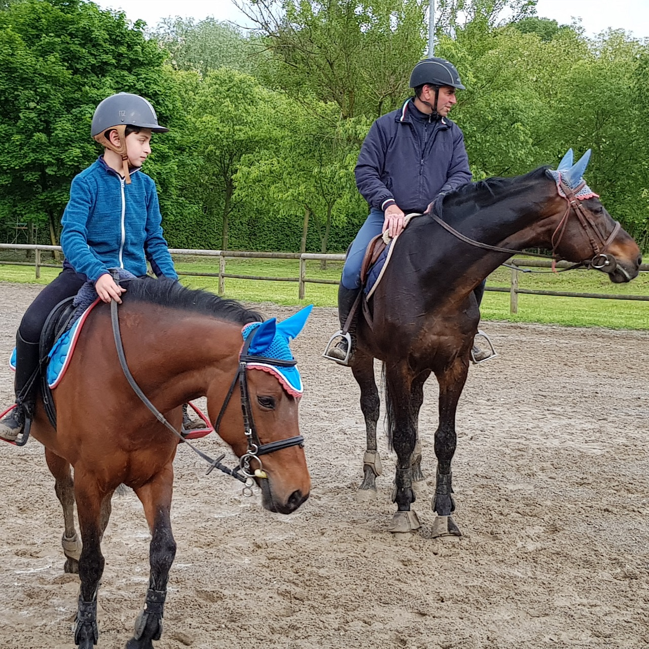 imparare equitazione