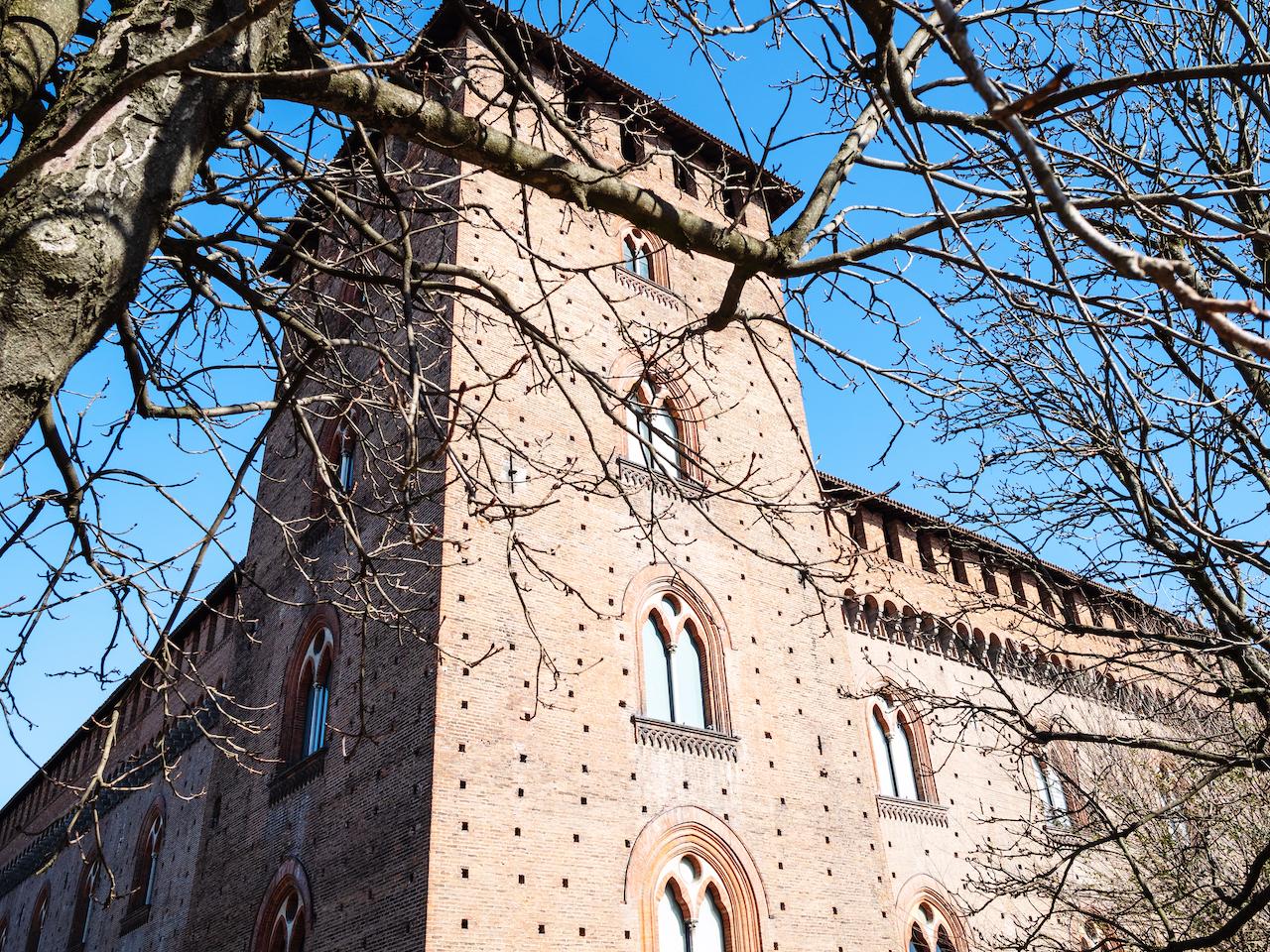 vista castello Trezzo